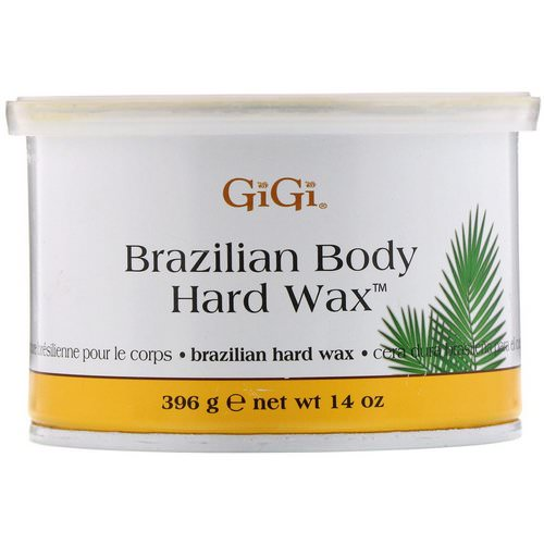 Gigi Spa, Brazilian Body Hard Wax, 14 oz (396 g) Review