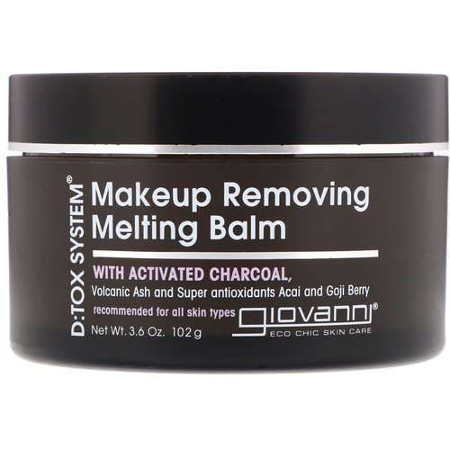 Giovanni, D:tox System, Makeup Removing Melting Balm, 3.6 oz (102 g) Review