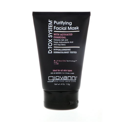 Giovanni, D:tox System, Purifying Facial Mask, 4 oz (113 g) Review