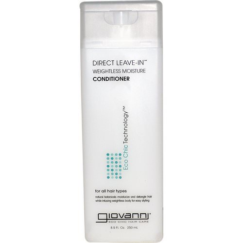 Giovanni, Direct Leave-In Weightless Moisture Conditioner, 8.5 fl oz (250 ml) Review
