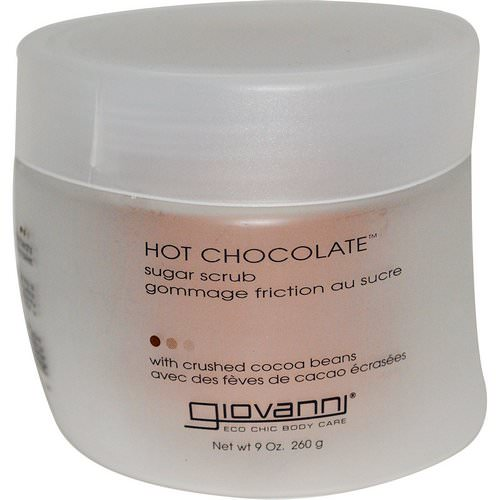 Giovanni, Hot Chocolate, Sugar Scrub, 9 oz (260 g) Review
