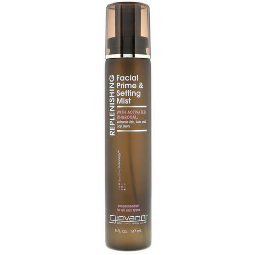 Giovanni, Replenishing, Facial Prime & Setting Mist, 5 fl oz (147 ml) Review