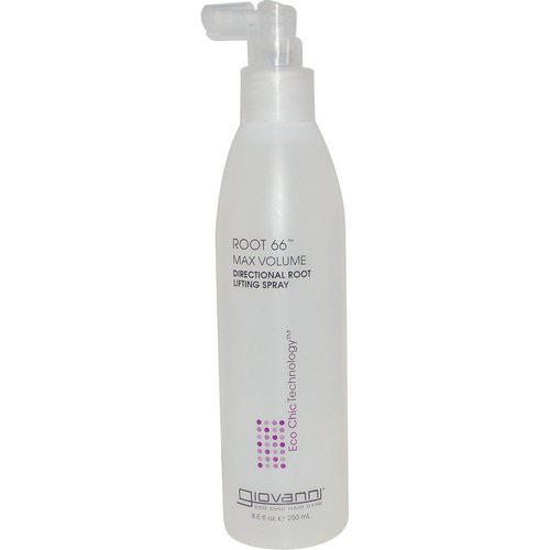 Giovanni, Root 66, Max Volume, Directional Root Lifting Spray, 8.5 fl oz (250 ml) Review