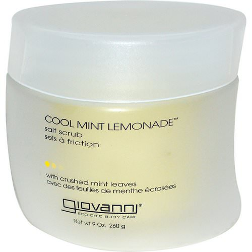 Giovanni, Salt Scrub, Cool Mint Lemonade, 9 oz (260 g) Review