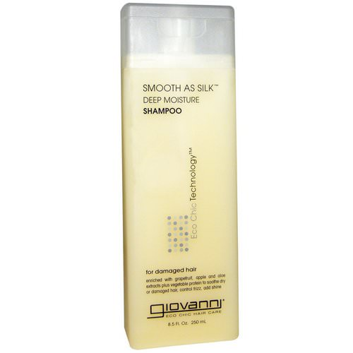 Giovanni, Smooth As Silk, Deep Moisture Shampoo, 8.5 fl oz (250 ml) Review