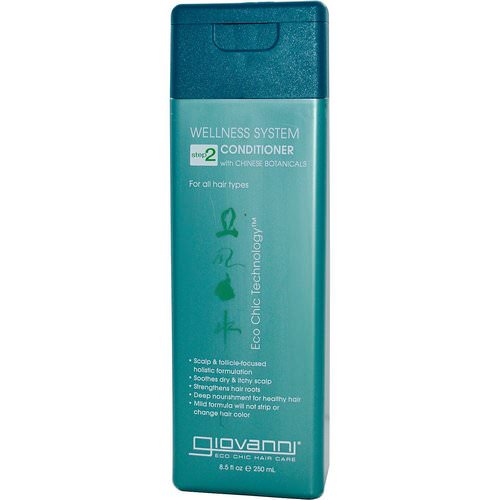 Giovanni, Wellness System Conditioner, Step 2, 8.5 fl oz (250 ml) Review
