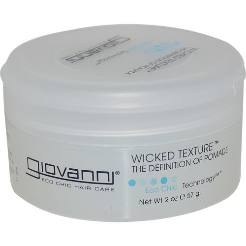 Giovanni, Wicked Texture, The Definition of Pomade, 2 oz (57 g) Review