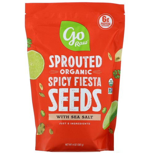 Go Raw, Organic Sprouted Spicy Fiesta Seeds with Sea Salt, 14 oz (397 g) Review