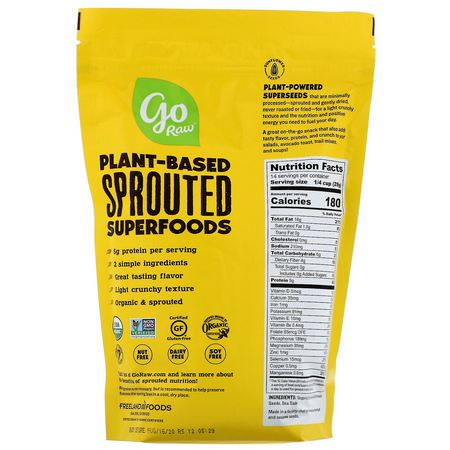 Go Raw Organic Sprouted Sunflower Seeds