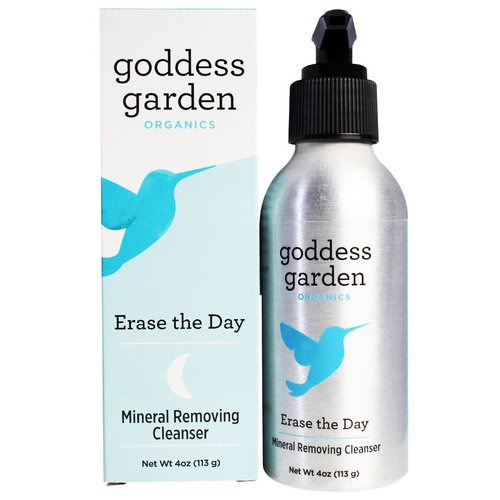 Goddess Garden, Organics, Erase the Day, Mineral Removing Cleanser, 4 oz (113 g) Review
