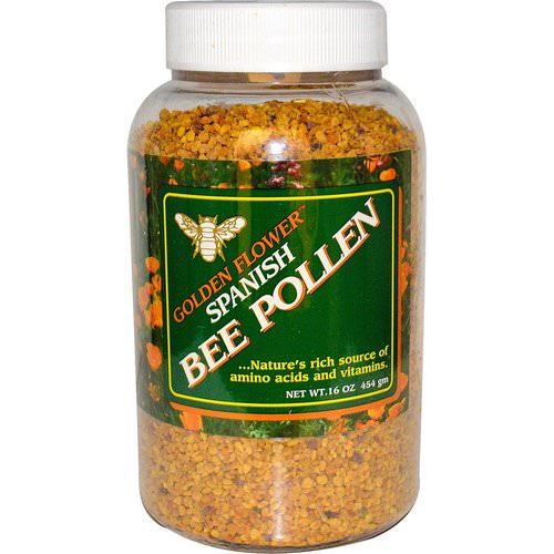 Golden Flower, Spanish Bee Pollen, 16 oz (454 g) Review