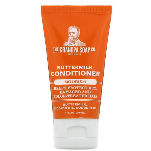 Grandpa's, Buttermilk Conditioner, Nourish, 1 fl oz (30 ml) Review