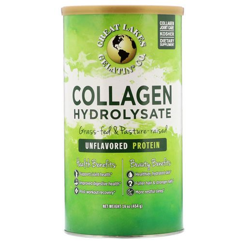 Great Lakes Gelatin Co, Collagen Hydrolysate, Unflavored, 16 oz (454 g) Review