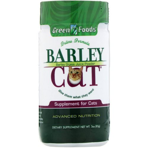 Green Foods, Barley Cat, 3 oz (85 g) Review