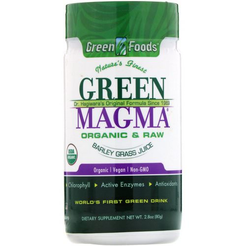 Green Foods, Green Magma, Barley Grass Juice, 2.8 oz (80 g) Review
