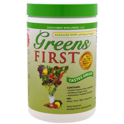 Greens First, Superfood Antioxidant Shake, Original, 9.95 oz (282 g) Review