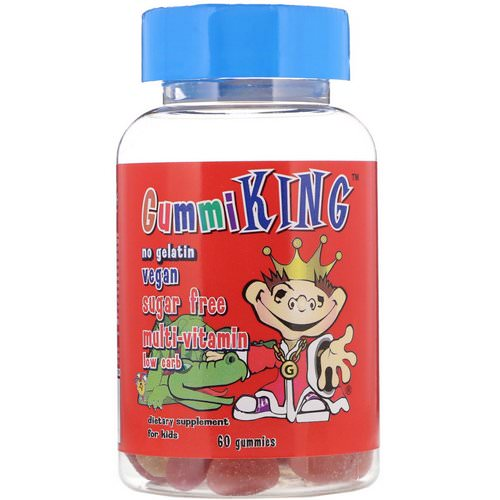 GummiKing, Sugar-Free Multi-Vitamin, For Kids, 60 Gummies Review