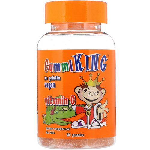 GummiKing, Vitamin C for Kids, 60 Gummies Review