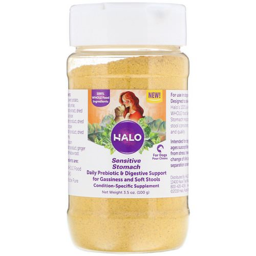 Halo, Sensitive Stomach, For Dogs, 3.5 oz (100 g) Review