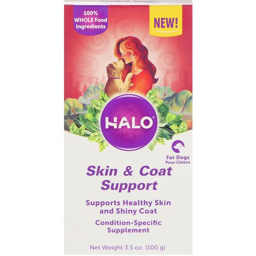 Halo, Skin & Coat Support, For Dogs, 3.5 oz (100 g) Review