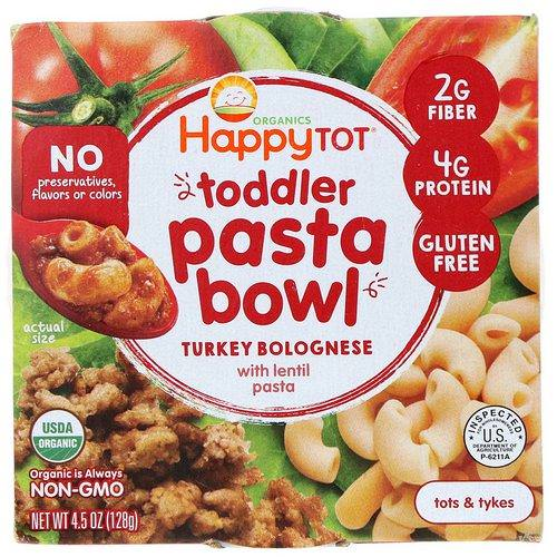 Happy Family Organics, Organics Happy Tot, Toddler Pasta Bowl, Turkey Bolognese, 4.5 oz (128 g) Review