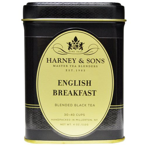 Harney & Sons, Black Tea, English Breakfast Blended, 4 oz (112 g) Review