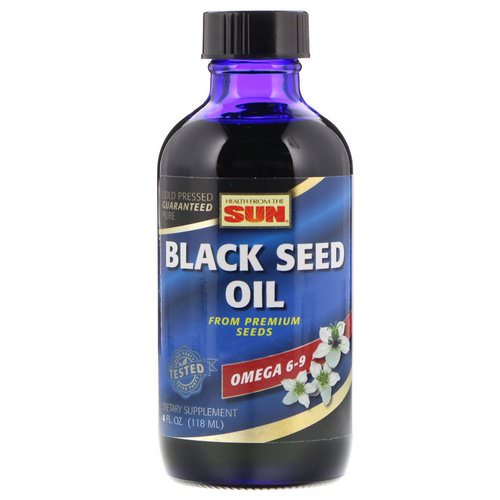 Health From The Sun, Black Seed Oil, 4 fl oz (118 ml) Review