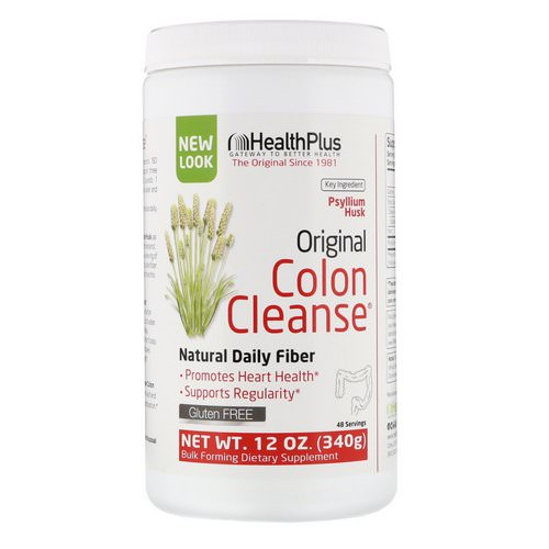 Health Plus, Original Colon Cleanse, 12 oz (340 g) Review