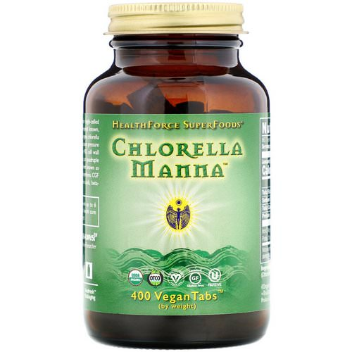 HealthForce Superfoods, Chlorella Manna, 400 VeganTabs Review