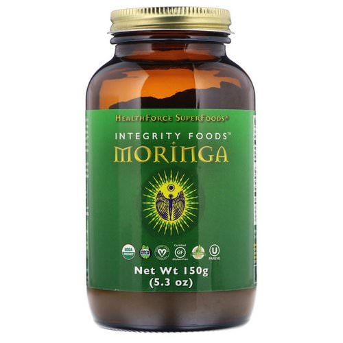 HealthForce Superfoods, Integrity Foods, Moringa, 5.3 oz (150 g) Review
