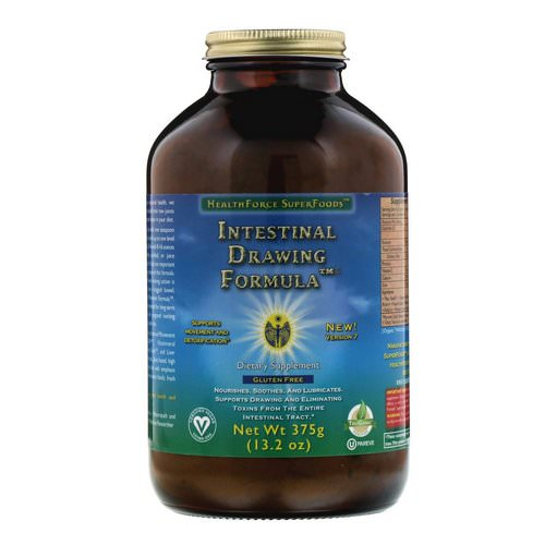 HealthForce Superfoods, Intestinal Drawing Formula, Version 7, 13.2 oz (375 g) Review
