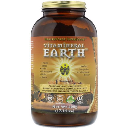 HealthForce Superfoods, Vitamineral Earth, 17.64 oz (500 g) Review