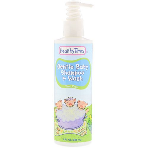 Healthy Times, Gentle Baby, Shampoo & Wash, Tear Free, 8 fl oz (236 ml) Review