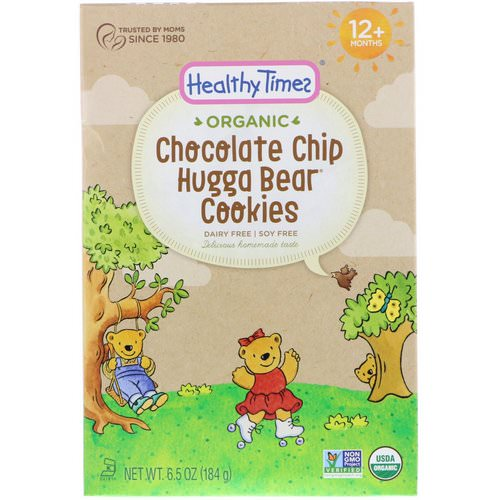 Healthy Times, Organic, Hugga Bear Cookies, Chocolate Chip, 12+ Months, 6.5 oz (184 g) Review