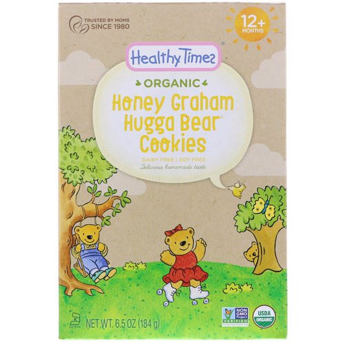 Healthy Times, Organic, Hugga Bear Cookies, Honey Graham, 12+ Months, 6.5 oz (184 g) Review