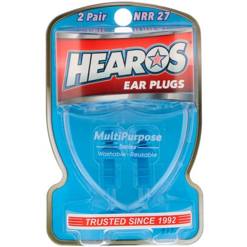 Hearos, Ear Plugs, Multi-Purpose Series, 2 Pair + Free Case Review