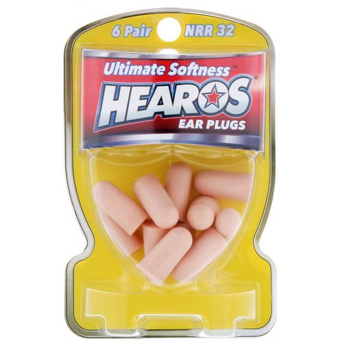 Hearos, Ear Plugs, Ultimate Softness, High, NRR 32, 6 Pair Review