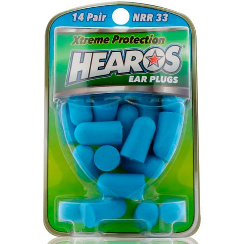 Hearos, Ear Plugs, Xtreme Protection, 14 Pair Review