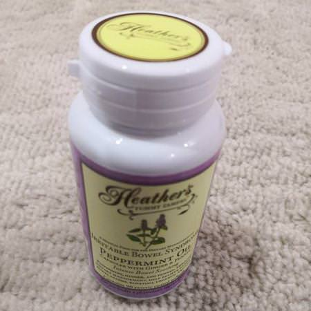 Heather's Tummy Care, Peppermint Oil, Irritable Bowel Syndrome, 90 Enteric Coated Softgels Review
