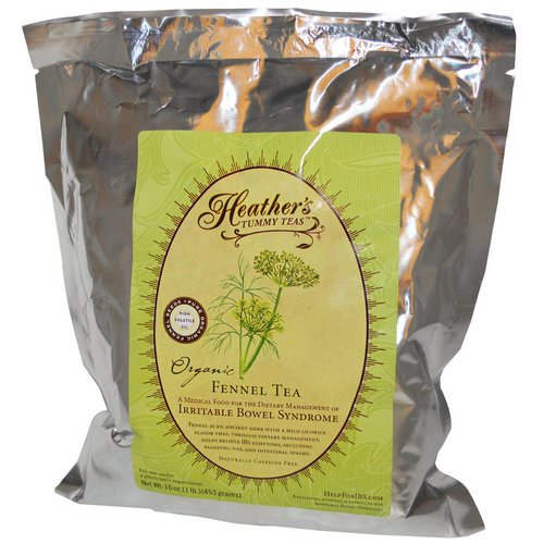 Heather's Tummy Care, Tummy Teas, Organic, Fennel Tea, Caffeine Free, 16 oz (453 g) Review