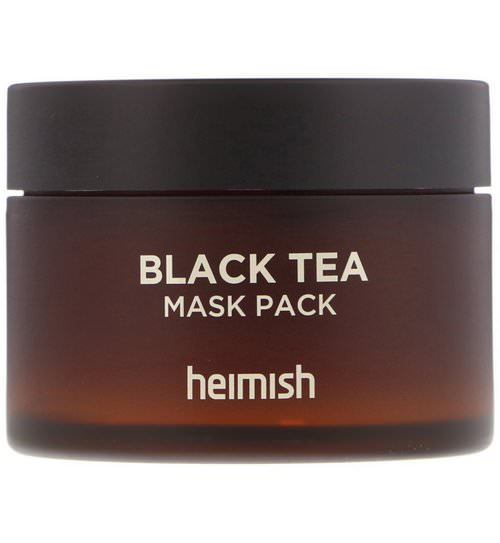 Heimish, Black Tea Mask Pack, 110 ml Review