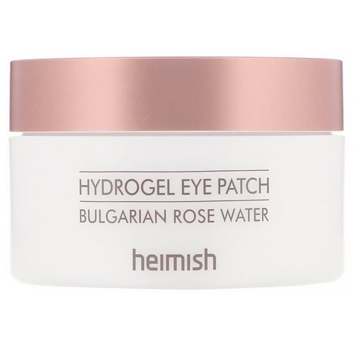 Heimish, Hydrogel Eye Patch, Bulgarian Rose Water, 60 Patches Review