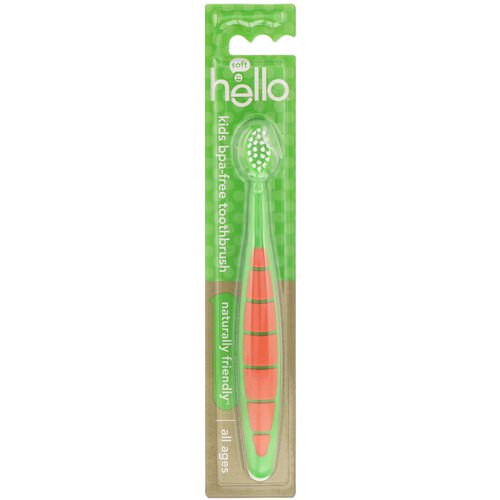 Hello, Kids BPA-Free Toothbrush, All Ages, 1 Toothbrush Review