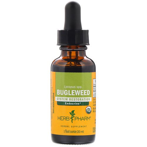Herb Pharm, Bugleweed, 1 fl oz (30 ml) Review