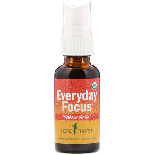 Herb Pharm, Herbs on the Go, Everyday Focus, 1 fl oz (30 ml) Review