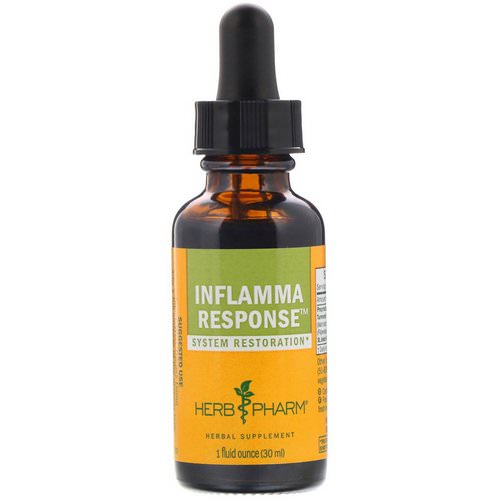 Herb Pharm, Inflamma Response, 1 fl oz (30 ml) Review