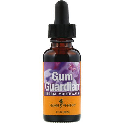Herb Pharm, Gum Guardian, Herbal Mouthwash, 1 fl oz (30 ml) Review