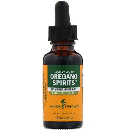 Herb Pharm, Oregano Spirits, 1 fl oz (30 ml) Review