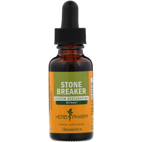Herb Pharm, Stone Breaker, 1 fl oz (30 ml) Review