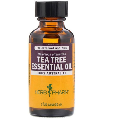 Herb Pharm, Tea Tree Essential Oil, 1 fl oz (30 ml) Review